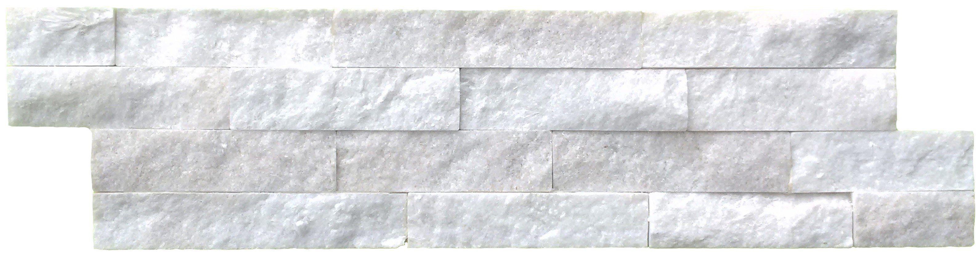 Split face white sparkle feature wall tile With it\'s subtle sparkle ...