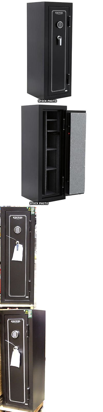 Cabinets And Safes 177877: Stack On 14 Gun Fire Resistant Security Safe  With Electronic
