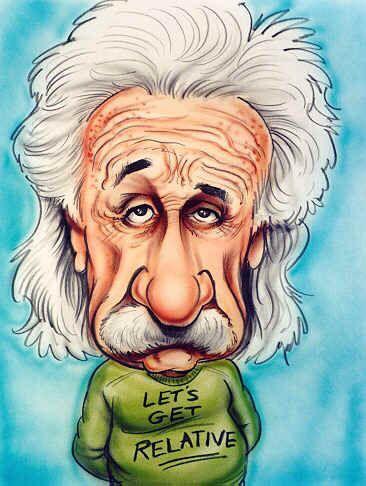 Albert Einstein Caricatures Caricaturas De Famosos Caricaturas