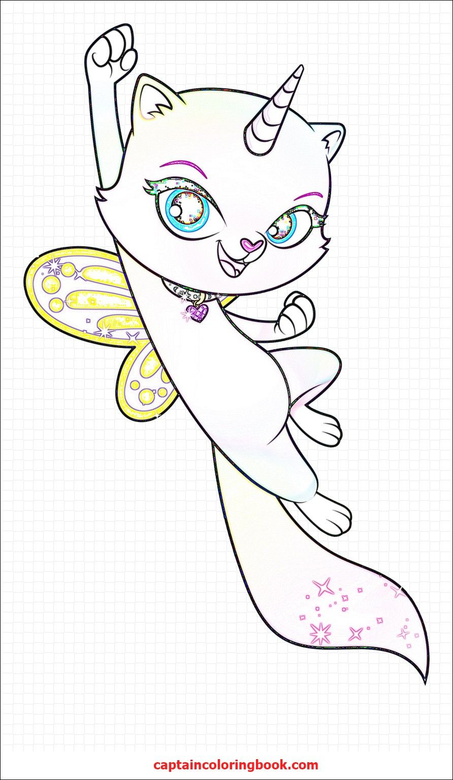 Unicorn Kitty Coloring Page Youngandtae Com Kitty Coloring Hello Kitty Colouring Pages Unicorn Coloring Pages