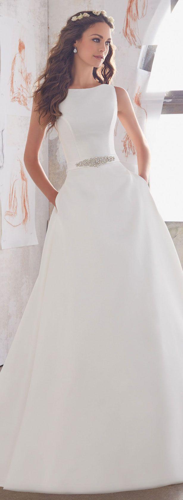 Mori lee madeline gardner wedding dress  Mori Lee by Madeline Gardner Wedding Dress Collection  Blu Spring