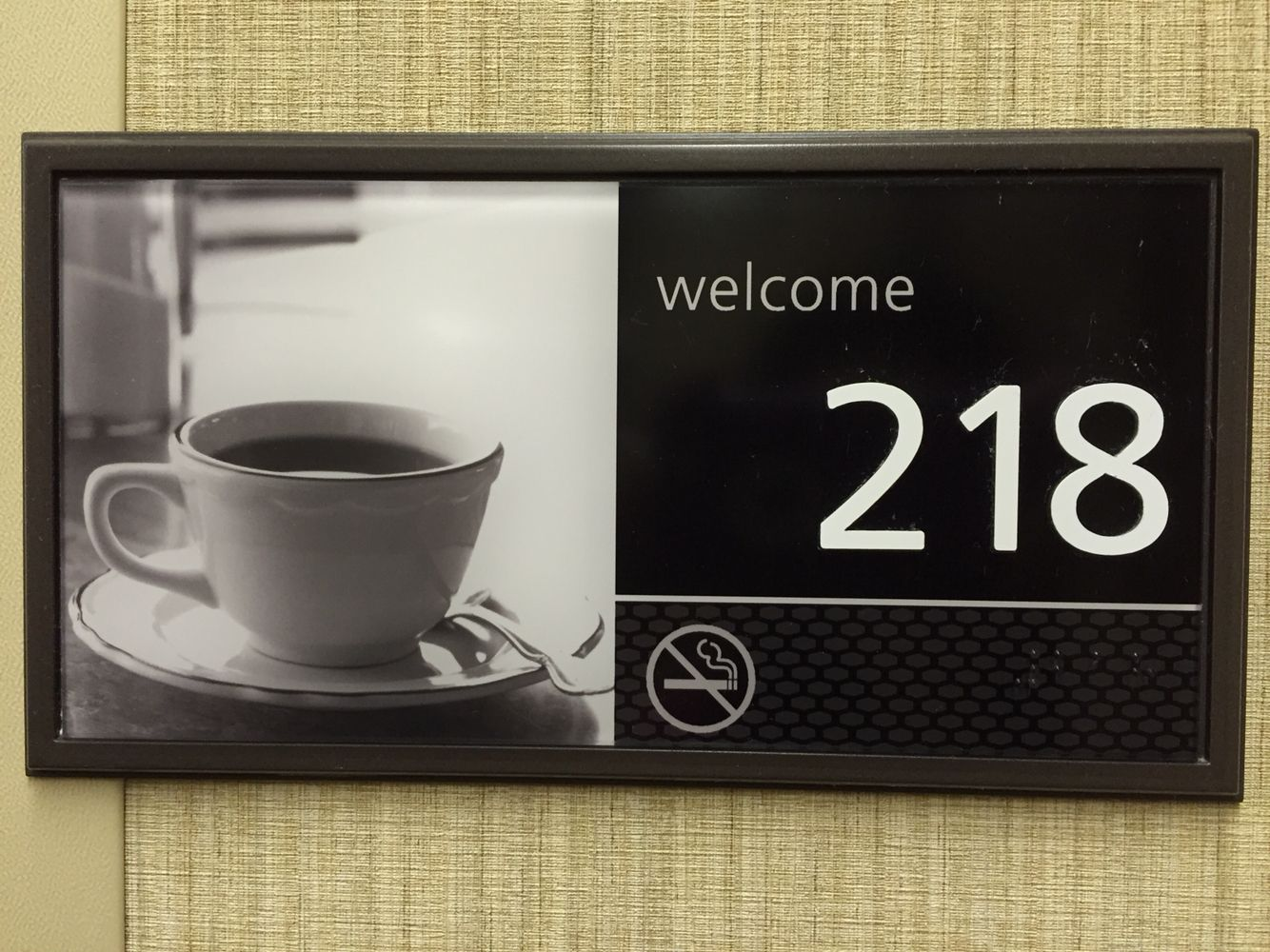 Even the hotel knows... #TeaAlways