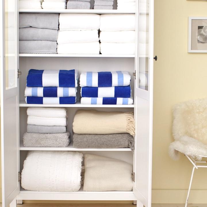 How to Expertly Organize Your Linen Closet   Closet Organization Hacks