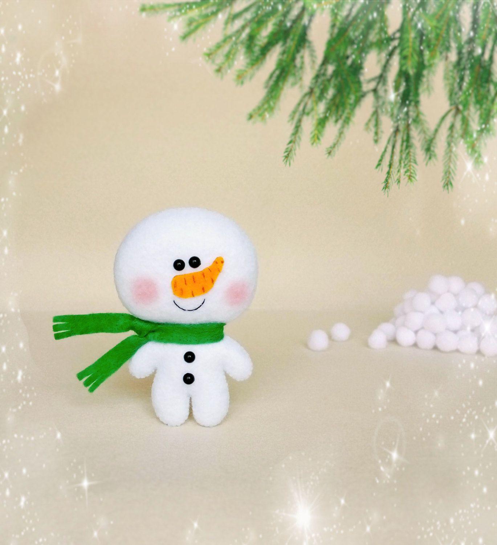 Toys cartoon images  Christmas Decorations Snowman Felt Toys Christmas Ornaments New