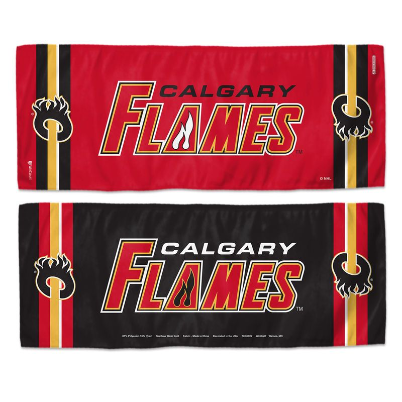 """Calgary Flames WinCraft 12"""" x 30"""" DoubleSided Cooling"""