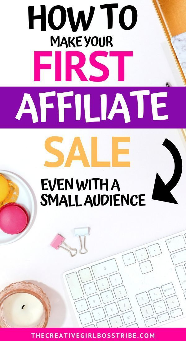 Do you want to make money with your blog with affiliate marketing but have no idea where to begin? Learn step-by-step how to make your first affiliate sale regardless of your niche and even if you have a small audience.