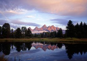 Jackson, WY--located close to Grand Teton and Yellowstone National Parks