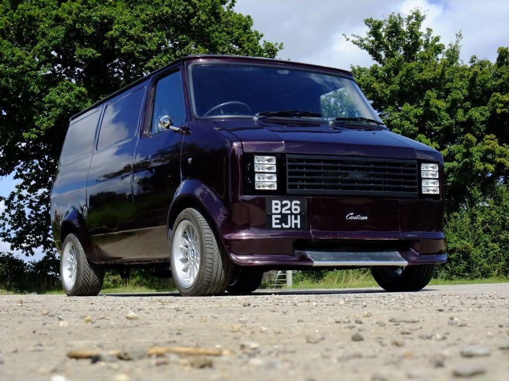 1985 Bedford Cf2 4 6 V8 Van Finished Retro Rides Custom Vans Bedford Truck Van