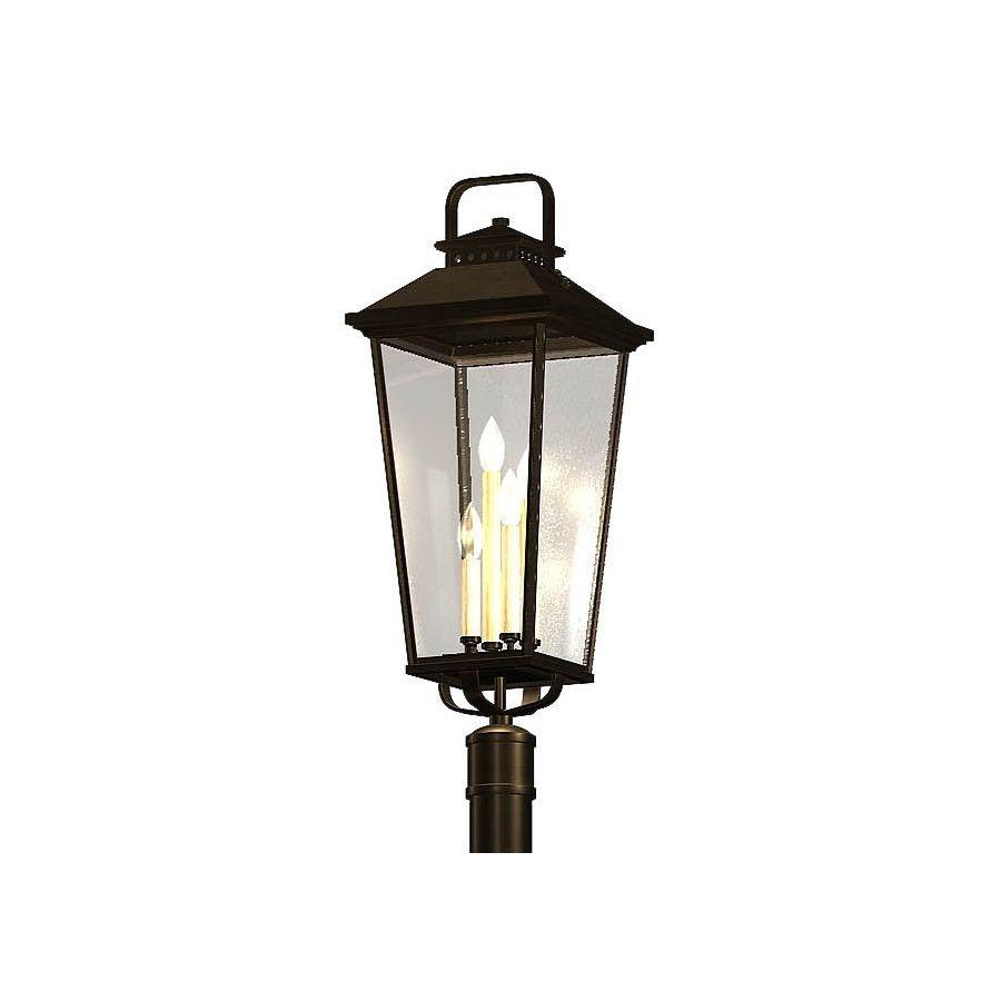 Allen Roth Parsons Field 25 4 In H Black Post Light Lowes Com Black Outdoor Wall Lights Outdoor Wall Lighting Outdoor Light Fixtures