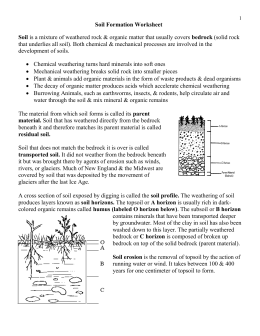 soil formation worksheet wikispaces teaching pinterest worksheets. Black Bedroom Furniture Sets. Home Design Ideas