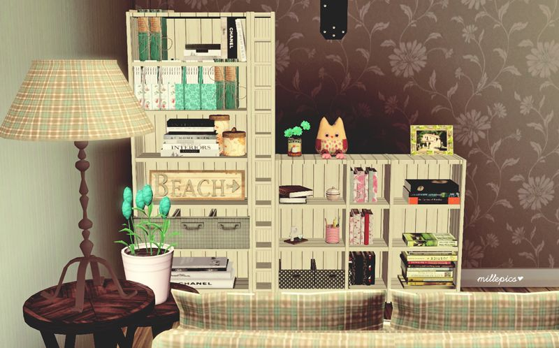 Sims 3 Download Camille Ikea Shelves 2 To Conversion