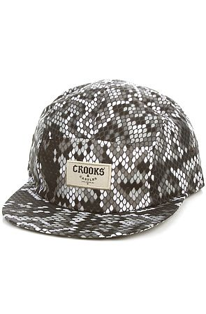b0414a8a84c Snapback Fashion Blog Crooks and Castles Men s The Jungle Fever 5 Panel Hat  in Snake Print