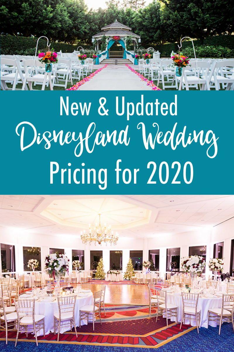 Disneyland Wedding Pricing For 2020 In 2020 Disneyland Wedding Disneyland Wedding Reception Wedding Prices