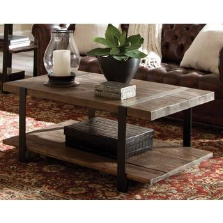 Shop for Modesto Natural Rustic Coffee Table Get free shipping at
