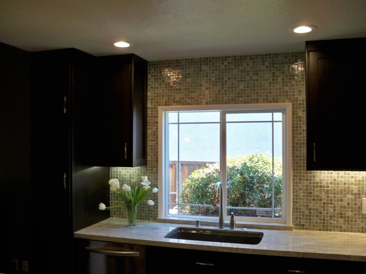 Tile around window (Cultivate.com)   Kitchens   Pinterest   Window ...