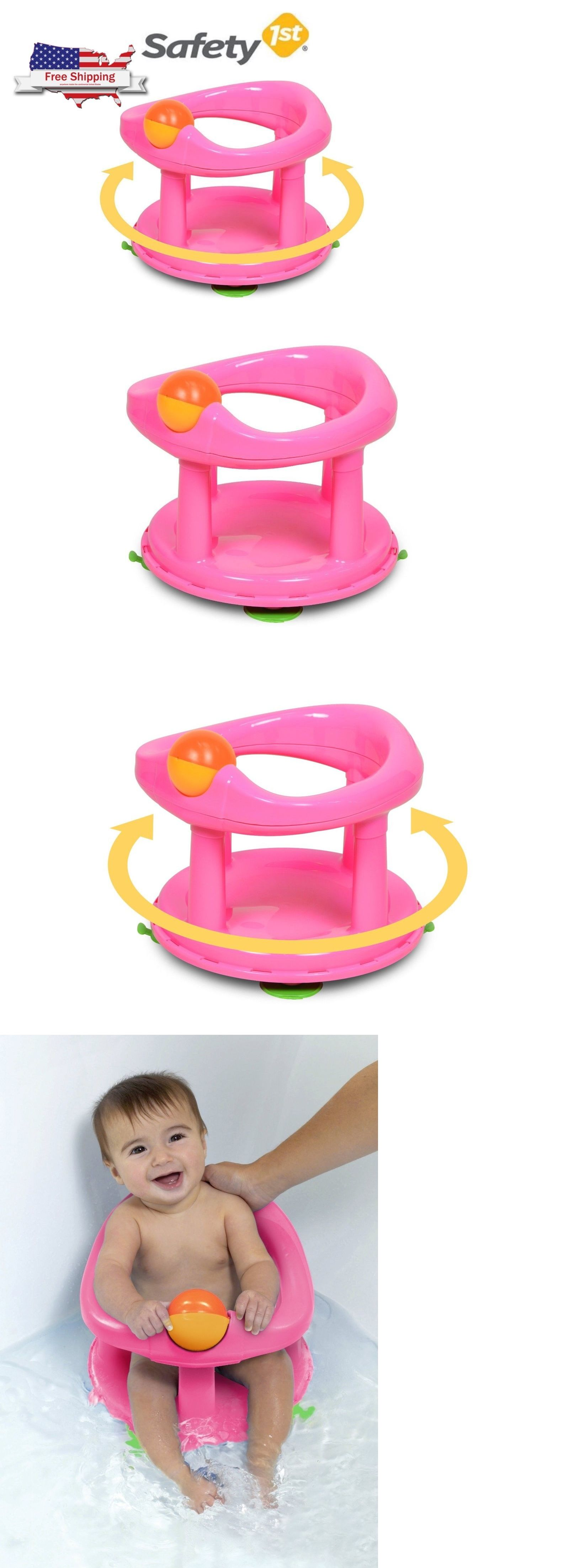 Baby Infant Bath Tub Safety 1st Ring 360 Play Seat Safety First Fun ...