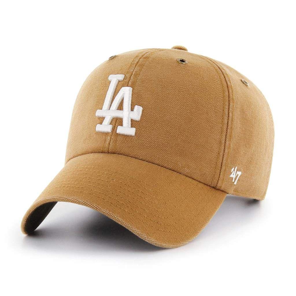 Los Angeles Dodgers Carhartt X 47 Clean Up Carhartt Yankees Hat Adjustable Hat