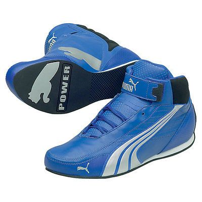 d176085d Puma Kart Cat Mid II 2 Pro Go Karting Boots Shoes Go-Kart Trainers Blue |  Race Boots | Car & Kart Racewear - Zeppy.io