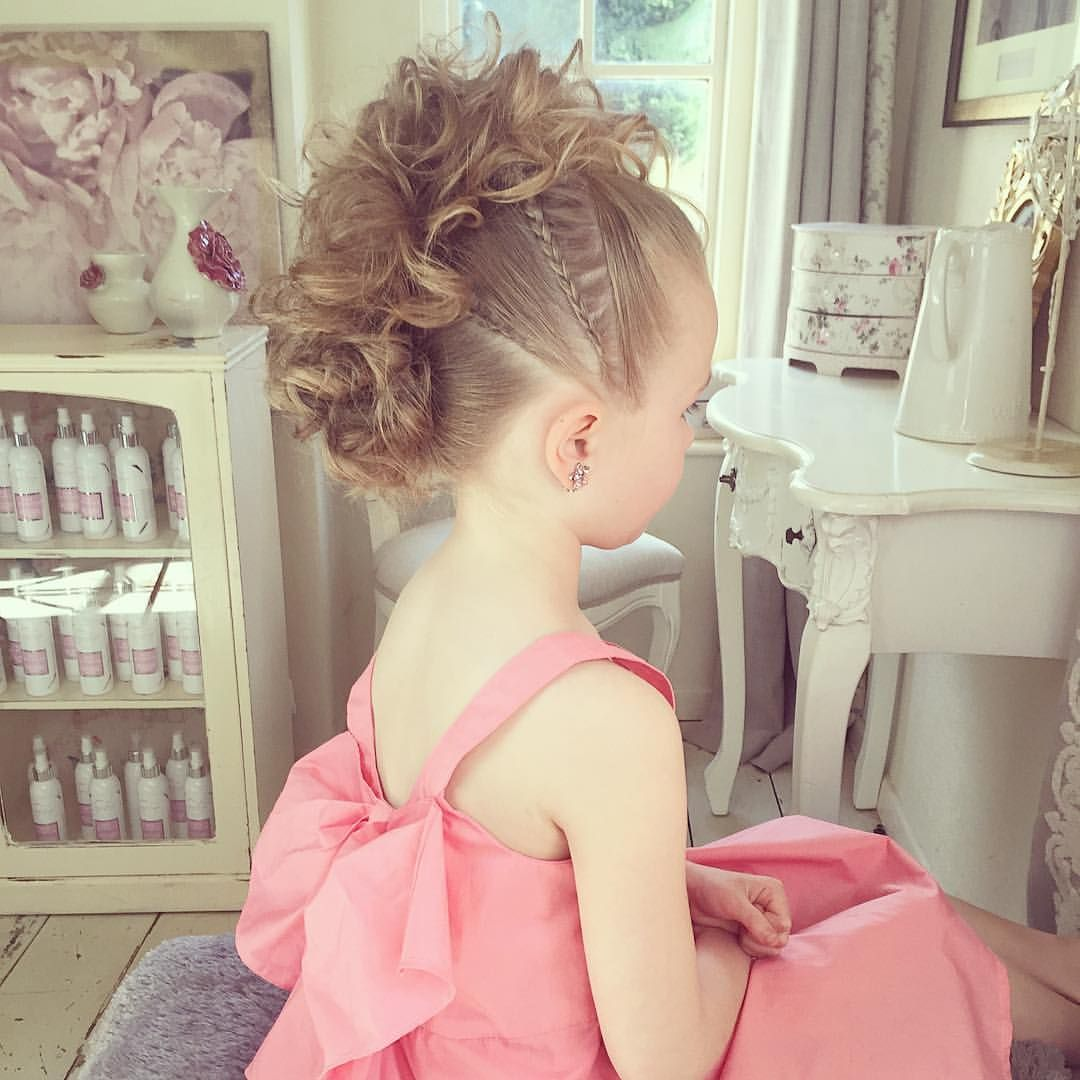 A curly mohawk with braids why do kids look so cute with a mohawk