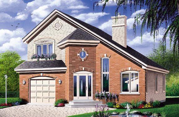 Contemporary European House Plan 65292 house Pinterest