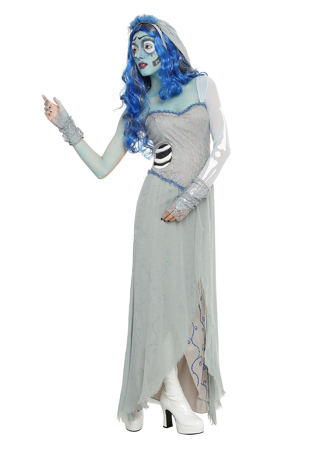 Corpse Bride Emily Costume   Corpse bride and Costumes