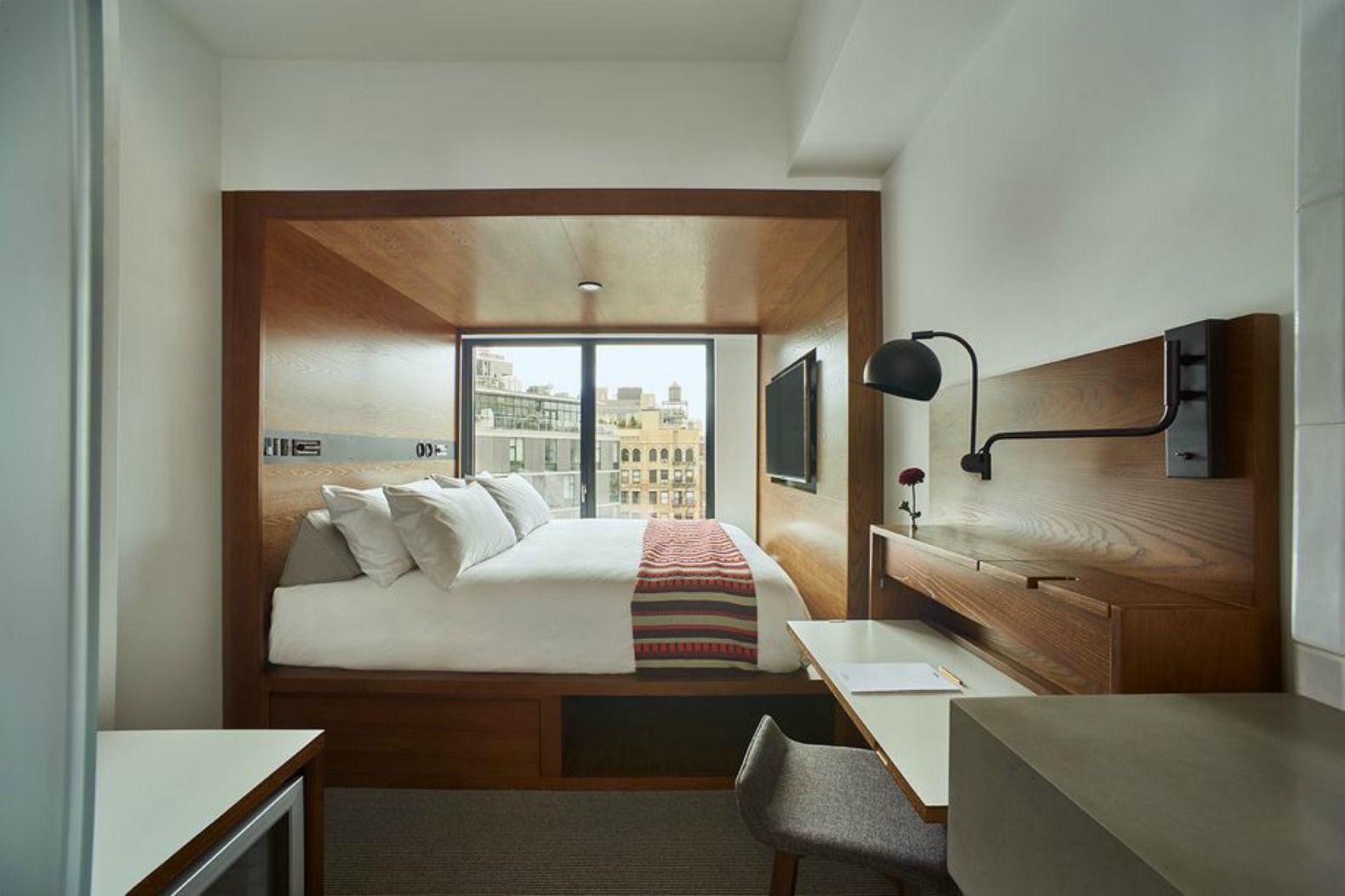 """America's """"first micro hotel with 4star design"""" packs big"""