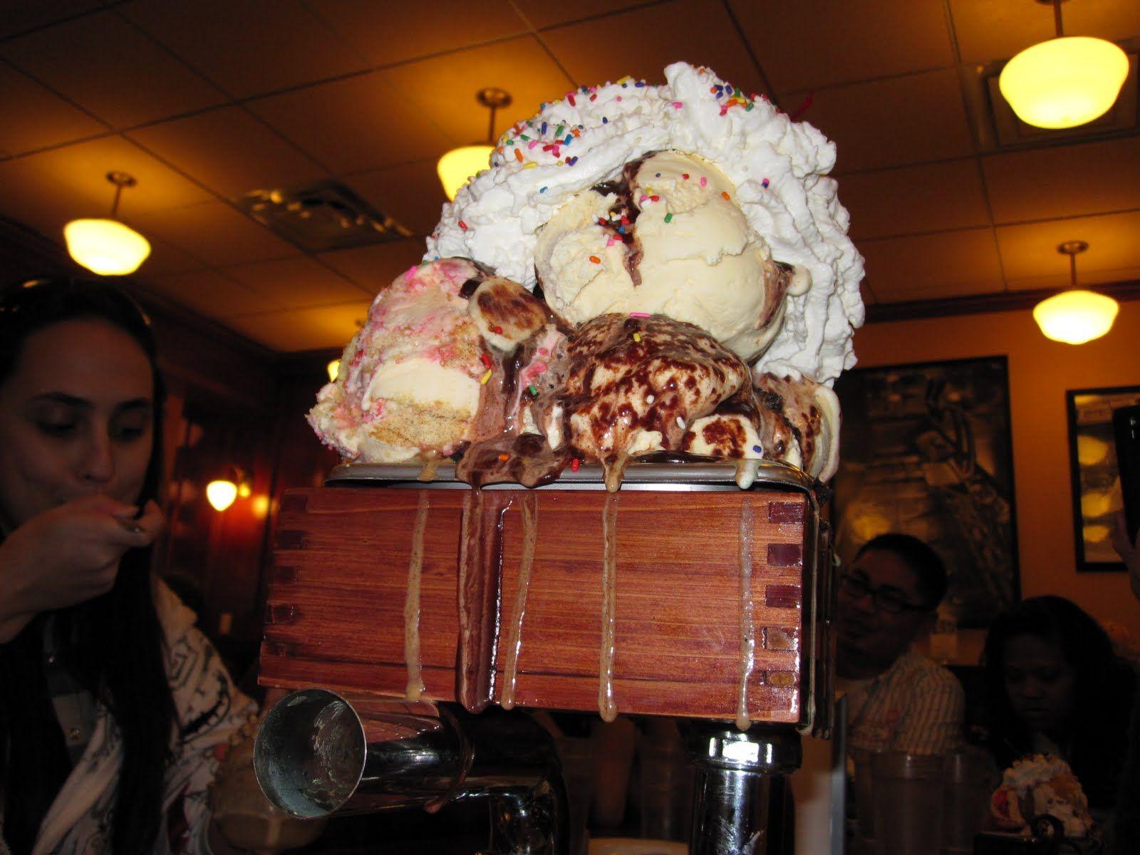 the kitchen sink ice cream challenge | Flat out crazy!!! | Pinterest ...
