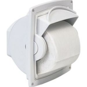 how to open a kimberly clark toilet paper holder