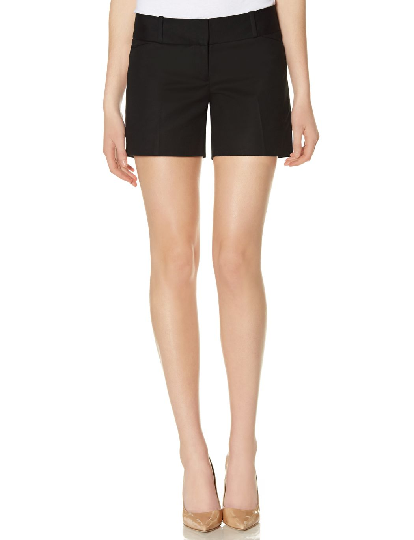 Express Black Pleated Cuffed Dress Shorts Black Short Dress Short Dresses Dresses [ 1740 x 580 Pixel ]