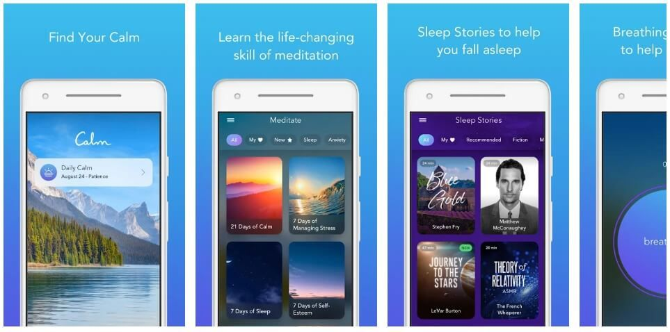 Download and install LeBron James Sleep App Calm apk for