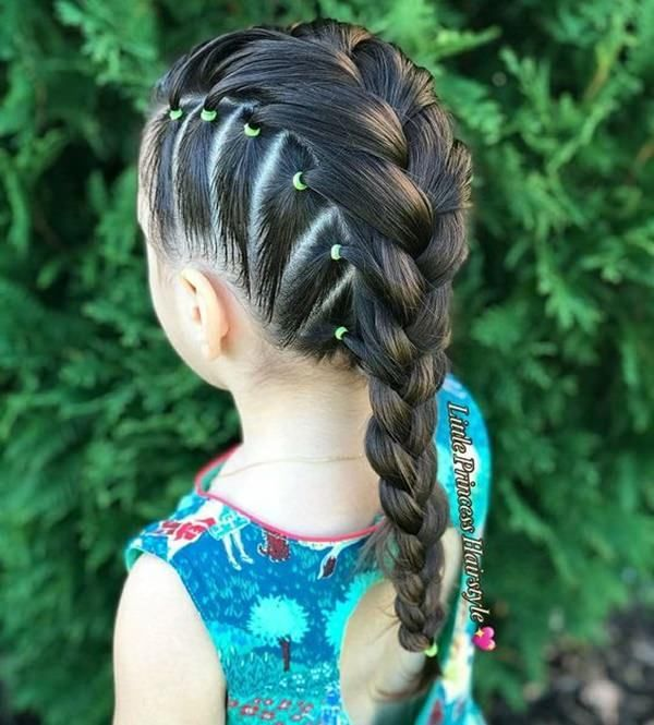 Mohawks Braids For Kids Pictures in 2020 | Girl hair dos, Baby girl hairstyles, Kids hairstyles