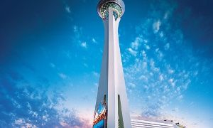 Stratosphere Hotel Casino Tower The Strip With Images