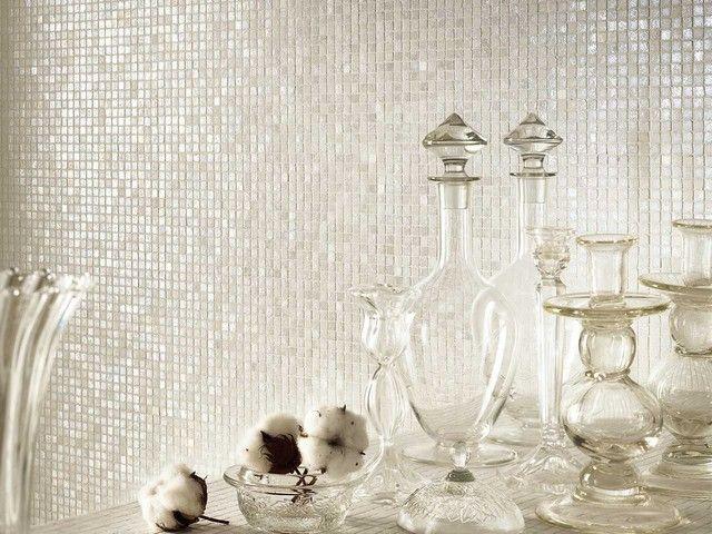 Mos vetro chester white 31 8x31 8 4mm mosaici bagno idee per il bagno bagno e bagni vintage - Mosaico vetro bagno ...