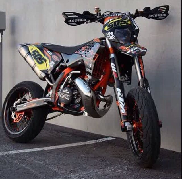 KTM 300 2-Stroke Supermotard | Motorcycles | Motocross bikes