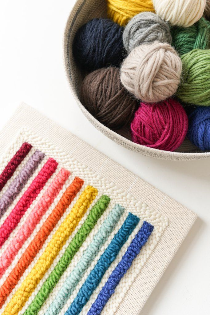 Punch Needle Frame- Monks Cloth | Lovely Embroidery | Monks