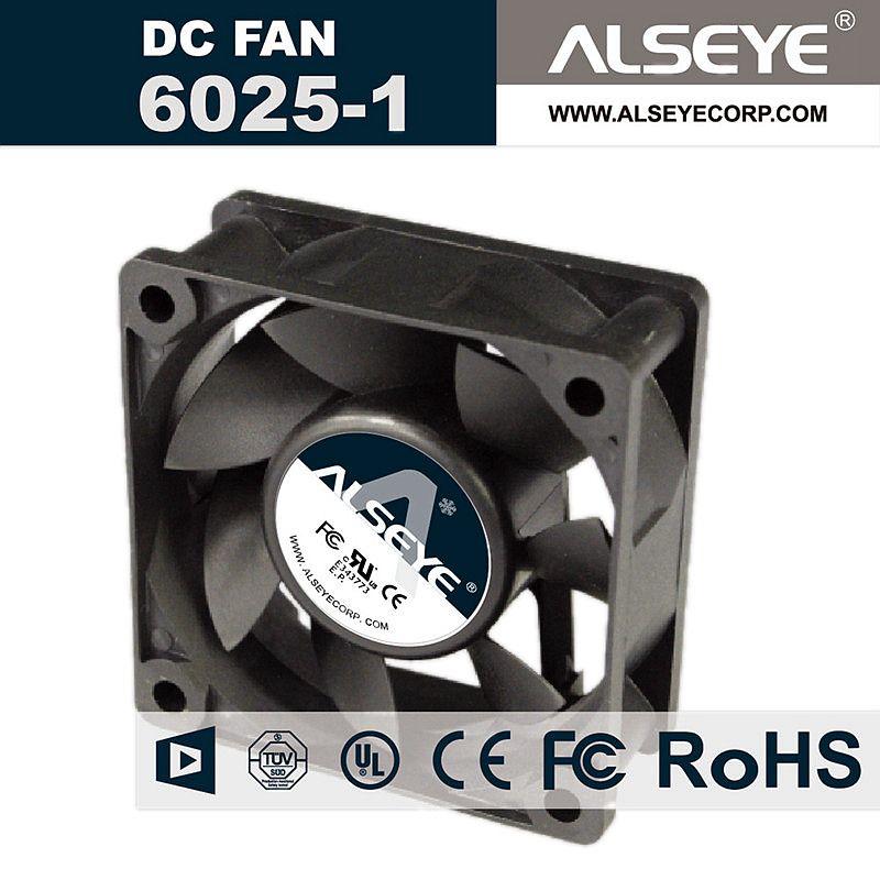 Alseye 6025rvl N1 60mm 12v Fan Cooler For Computer Cooling