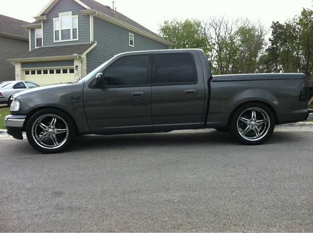 2014 Ford F 150 Fx2 Lowered 2003 screw, I like the tailights and no running ...