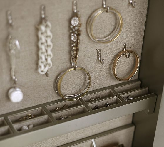 Park Mirrored Jewelry Closet Jewelry Mirror Jewelry