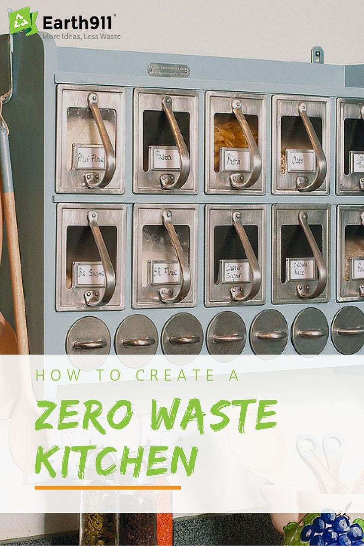 how to create a zero waste kitchen zero waste waste container eco friendly house on kitchen organization zero waste id=86232