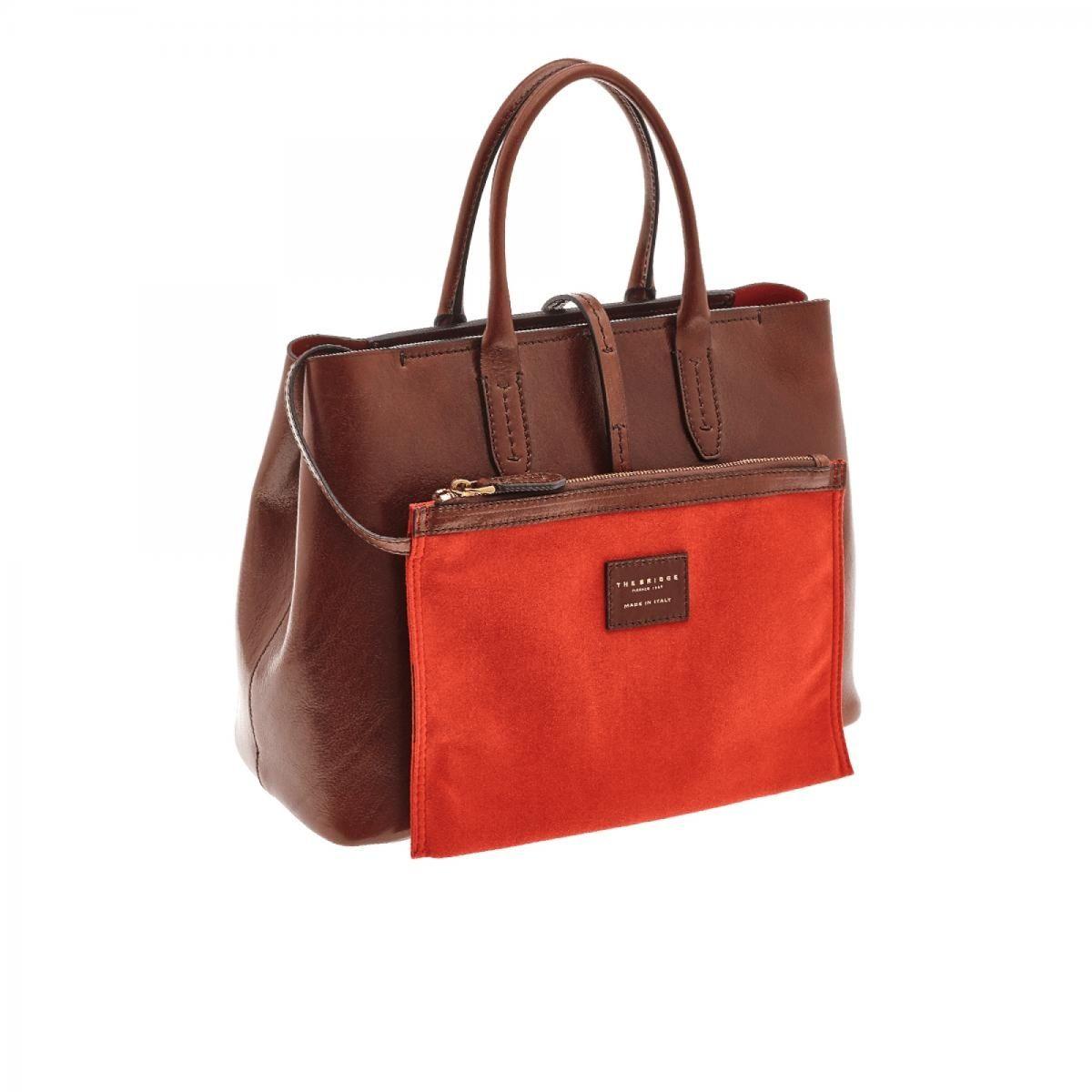 Photo of The Bridge Dalston handbag with strap medium brown (0413701)