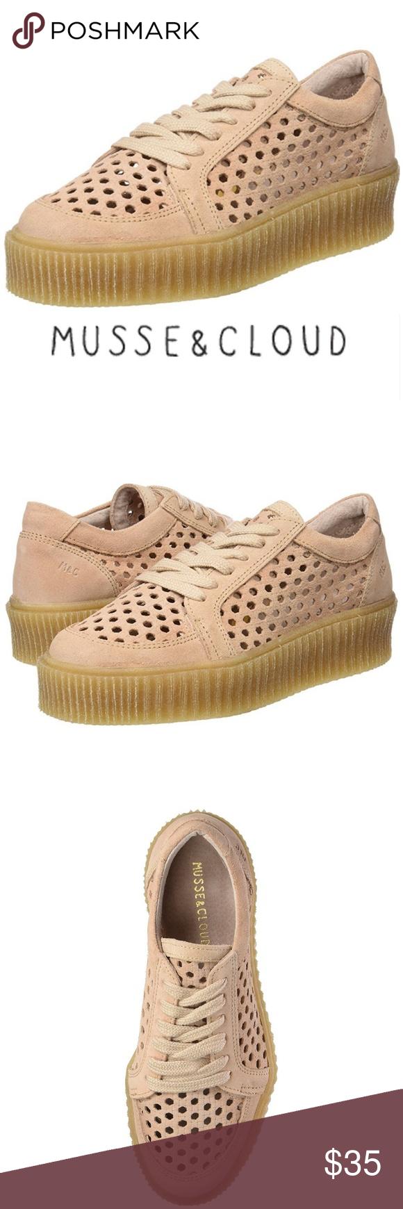 Musse \u0026 Cloud Pink Platform Sneakers