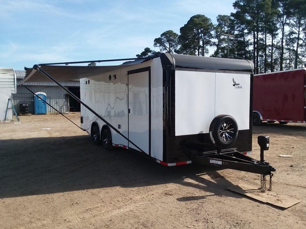 2019 Lark 8.5x24ta Enclosed Car Hauler Trailer w/Deluxe