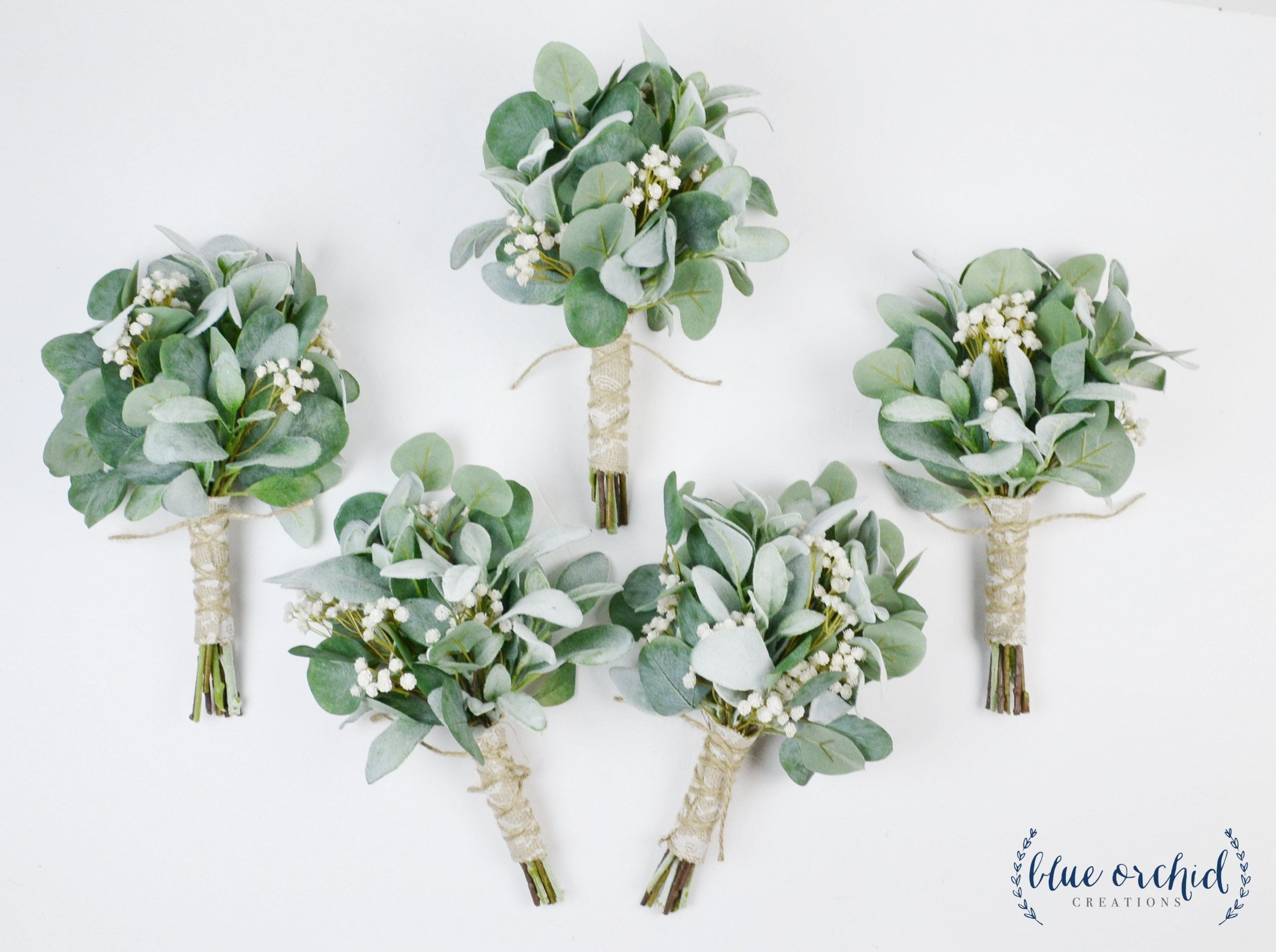 wedding flowers, greenery bouquets, wedding bouquets, bridesmaid bouquets, fall wedding, winter wedding, greenery, eucalyptus, boho bouquets #bridesmaidbouquets