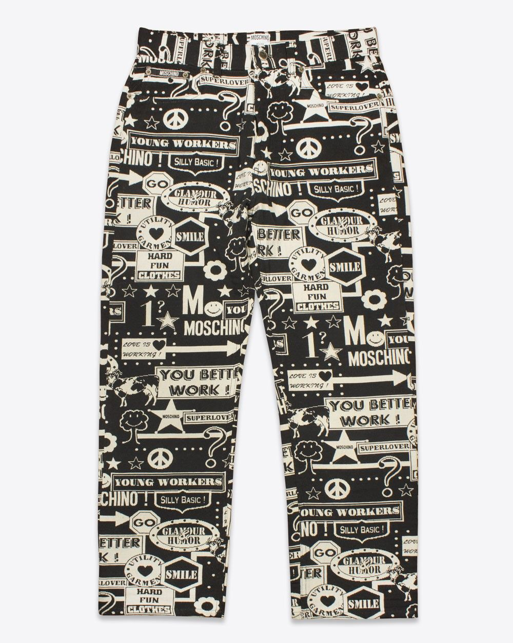 923219afc77d Moschino Mens Vintage Brocade Jeans | Vtg.Moschino Jeans | Vintage ...