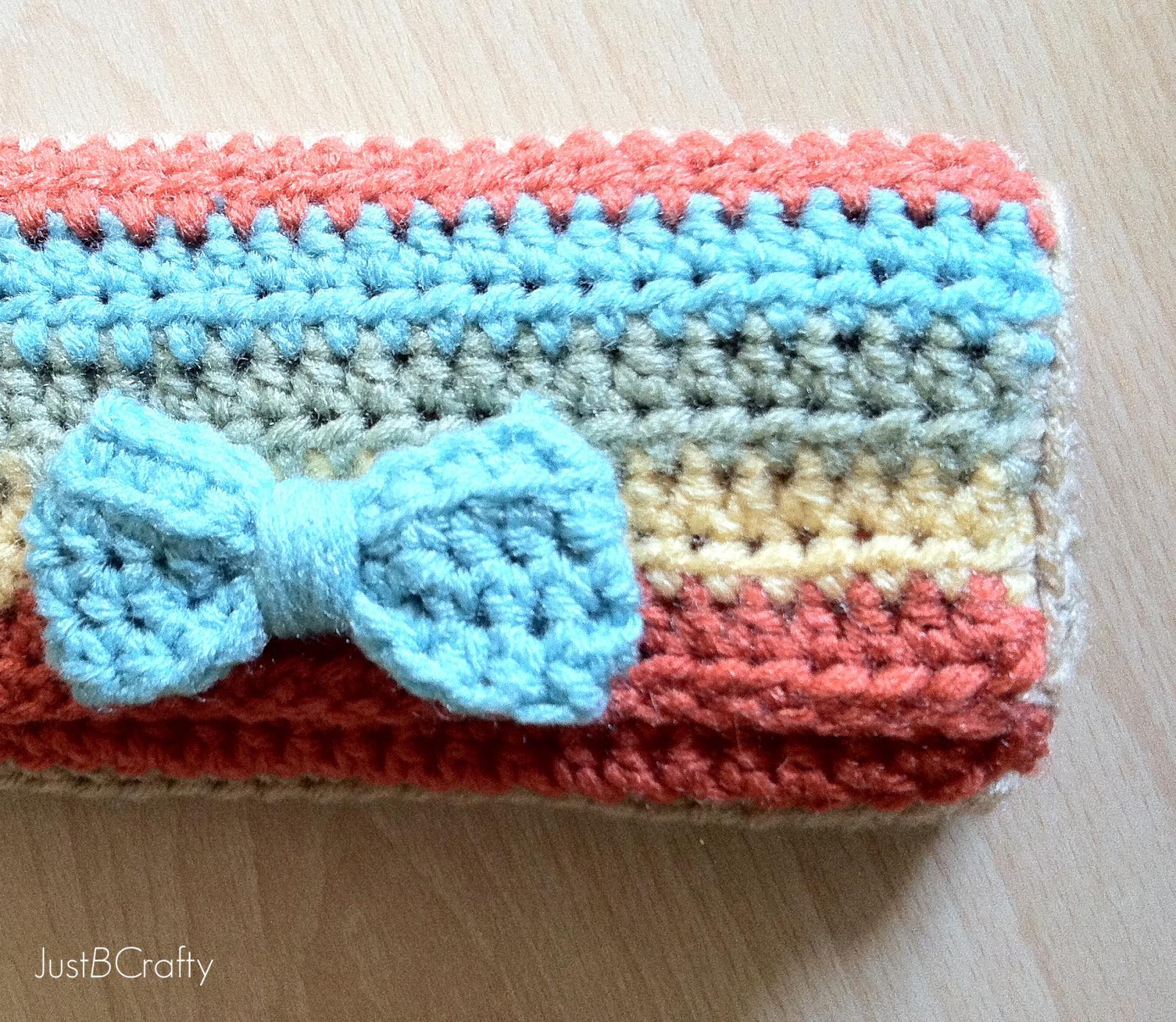 Crochet Wallet Tutorial | Stricken häkeln, Häckeln und Stricken