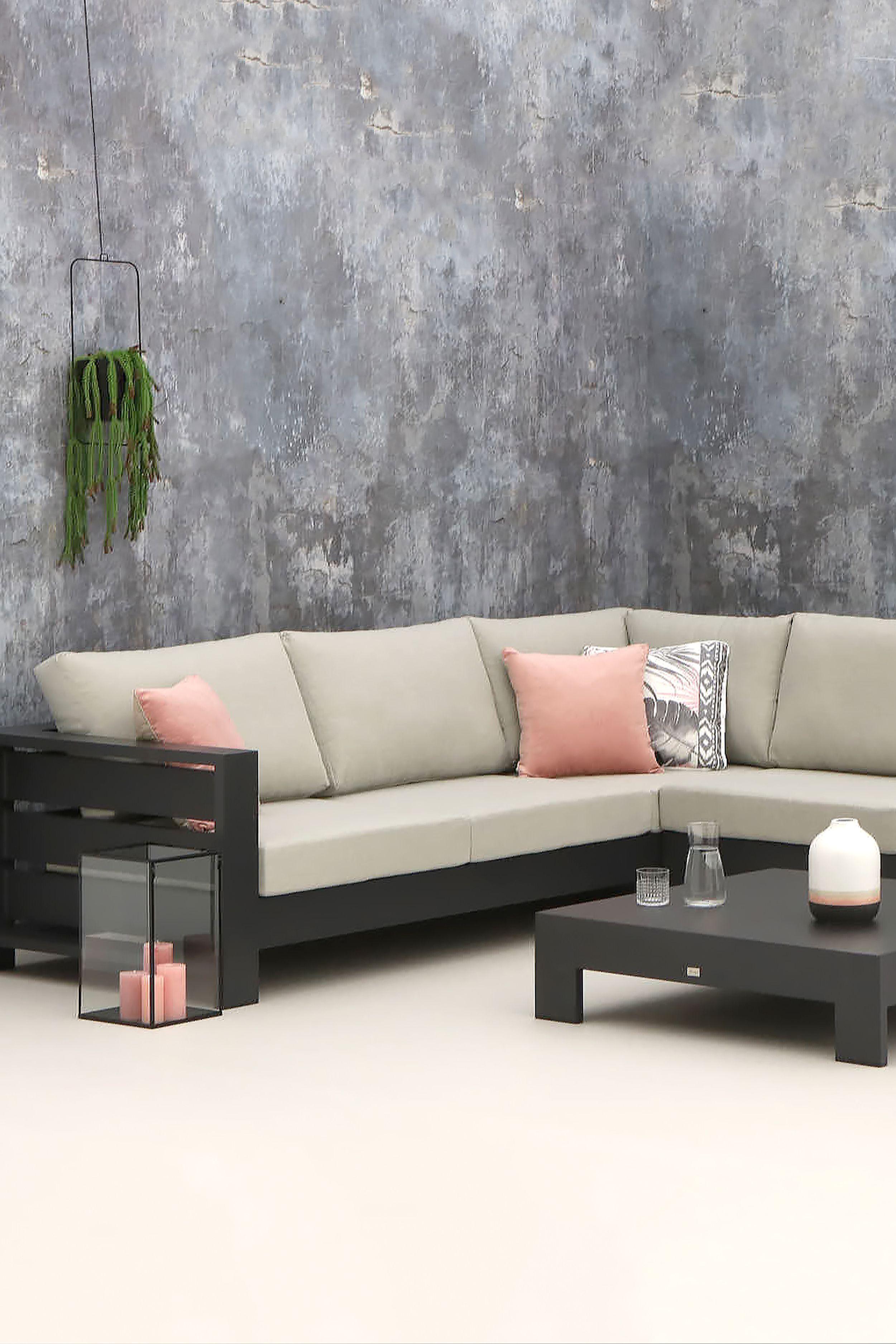Luxe Loungeset Zwart.Intenso Terlano Hoek Loungeset 4 Delig Loungeset Kleuren In