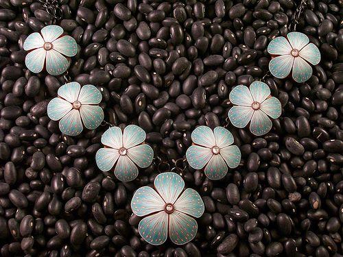 Florale Kette