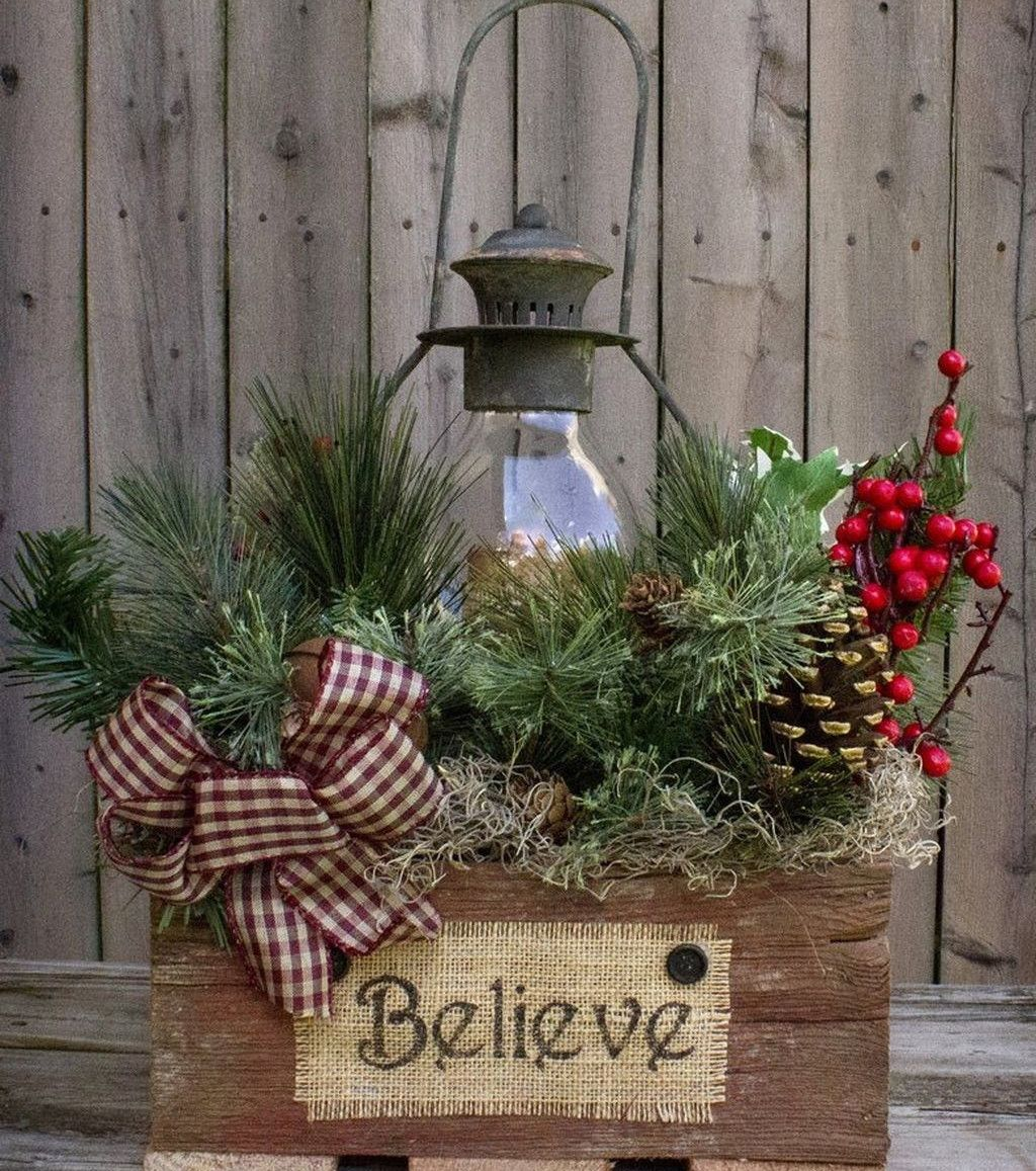 image result for pinterest arbre de noel en bois extrieur - Decorations De Noel Exterieures
