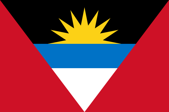 Bandera De Antigua Y Barbuda Flags Of The World More Pins