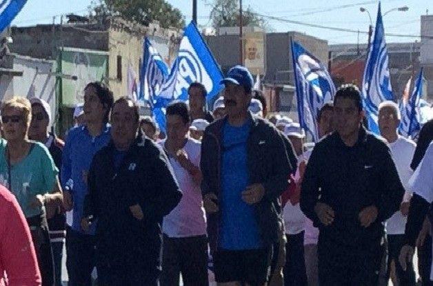 Arranca Javier Corral campaña con caminata en Juárez | El Puntero